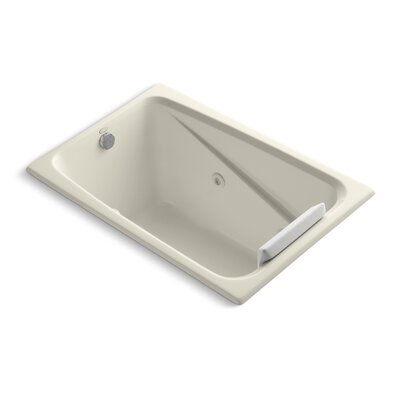 Greek 48 x 32 Whirlpool Bathtub Finish: Almond