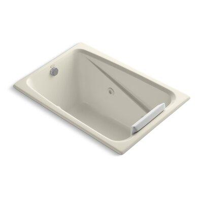 Greek 48 x 32 Whirlpool Bathtub Finish: Almond
