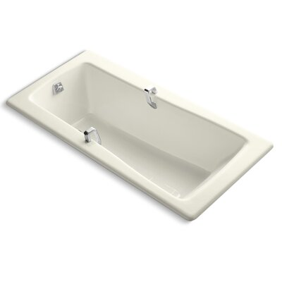 Maestro 66 x 32 Soaking Bathtub Finish: Biscuit