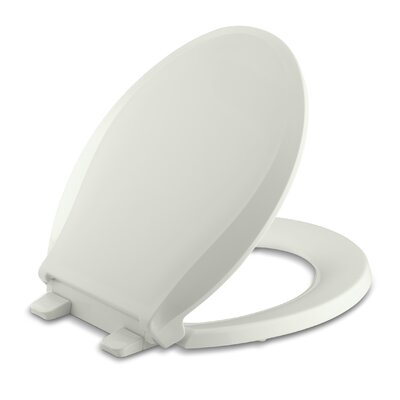 Cachet Quiet-Close with Grip-Tight Round-Front Toilet Seat Finish: Dune