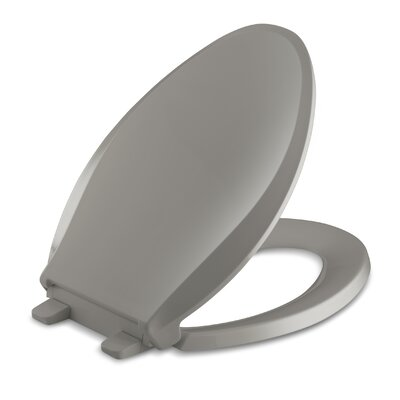 Cachet Quiet-Close with Grip-Tight Elongated Toilet Seat Finish: Cashmere