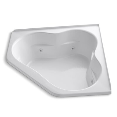 Tercet 60 x 60 Whirlpool Bathtub Finish: White