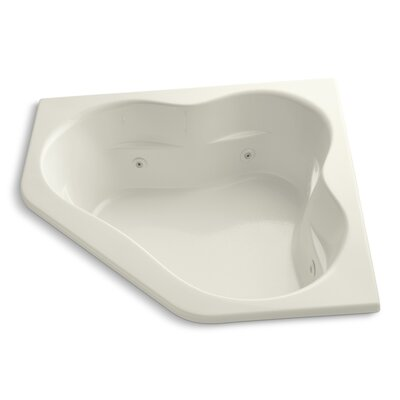 Tercet 60 x 60 Whirlpool Bathtub Finish: Biscuit