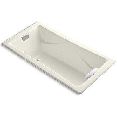 Tea-For-Two 72 x 36 Soaking Bathtub Finish: Biscuit