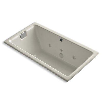Tea-For-Two 66 x 36 Whirlpool Bathtub Finish: Sandbar