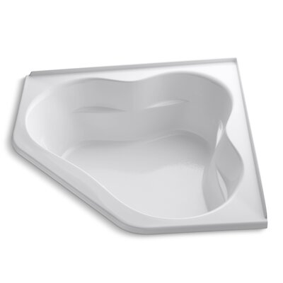 Tercet 60 x 60 Soaking Bathtub Finish: White