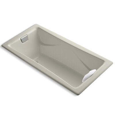Tea-For-Two 72 x 36 Soaking Bathtub Finish: Sandbar