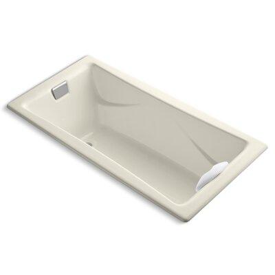 Tea-For-Two 72 x 36 Soaking Bathtub Finish: Almond