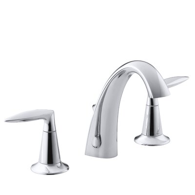 Alteo Widespread Bathroom Sink Faucet Finish: Polished Chrome