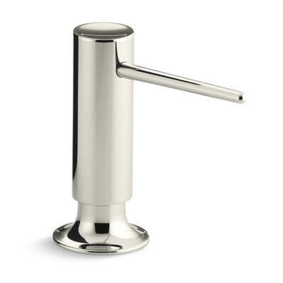 Contemporary Design Soap/Lotion Dispenser Finish: Vibrant Polished Nickel