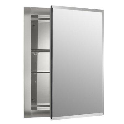 16 x 20 Aluminum Mirrored Medicine Cabinet