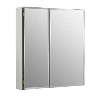 25 x 26 Aluminum Mirrored Medicine Cabinet