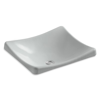 DemiLav Metal Specialty Vessel Bathroom Sink Sink Finish: Ice Grey