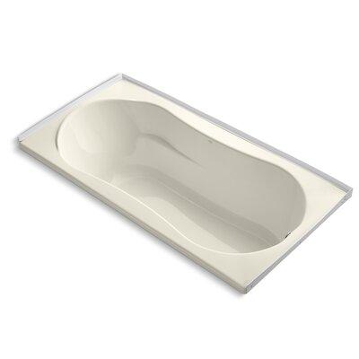 Proflex 72 x 36 Soaking Bathtub Finish: Almond