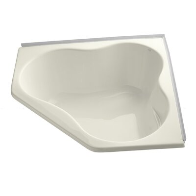 Proflex 54 x 54 Soaking Bathtub Finish: Biscuit