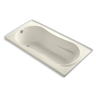 Proflex 72 x 36 Soaking Bathtub Finish: Almond
