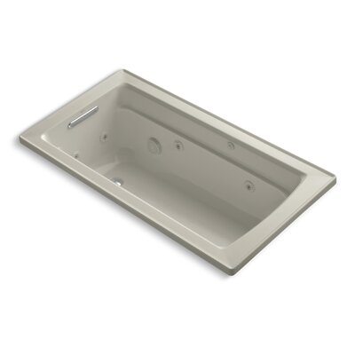 Archer 60 x 32 Whirpool Bathtub Finish: Sandbar