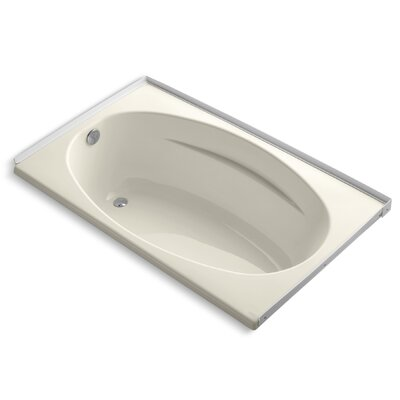 Alcove 60 x 36 Soaking Bathtub Finish: Almond