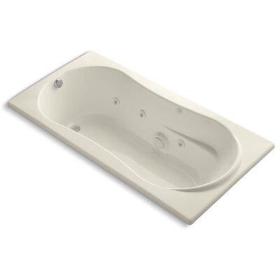 Proflex 72 x 36 Whirlpool Bathtub Finish: Almond