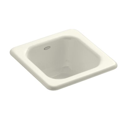Addison Top-Mount Bar Sink Finish: Biscuit