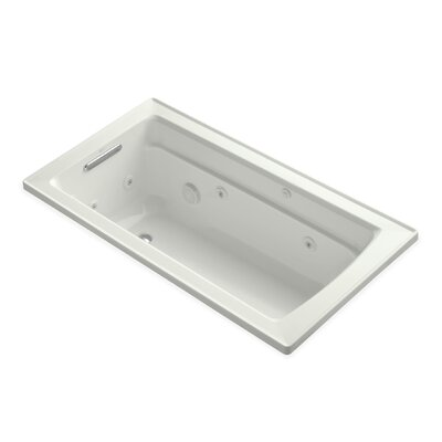 Archer 60 x 32 Whirlpool Bathtub Finish: Dune