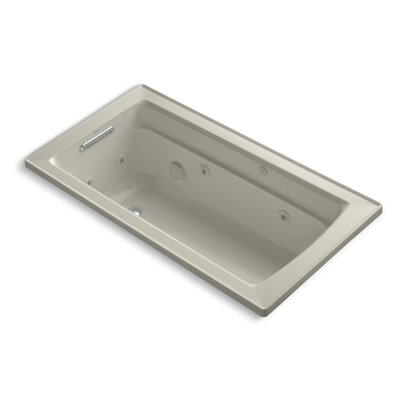 Archer 60 x 32 Whirlpool Bathtub Finish: Sandbar