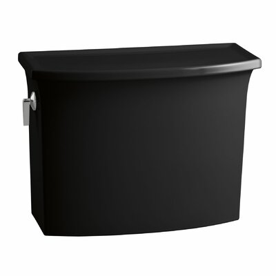 Archer 1.28 GPF Toilet Tank Finish: Black Black