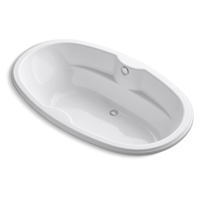 Proflex 72 x 43 Soaking Bathtub Finish: White