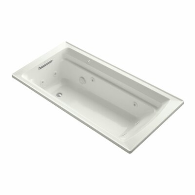 Archer 72 x 36 Whirpool Bathtub Finish: Dune