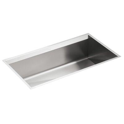 8 Degree 33 x 18 x 10 Under-Mount Large Single-Bowl Kitchen Sink