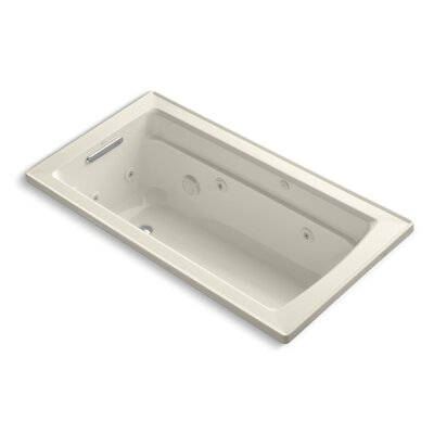 Archer 60 x 32 Whirpool Bathtub Finish: Almond