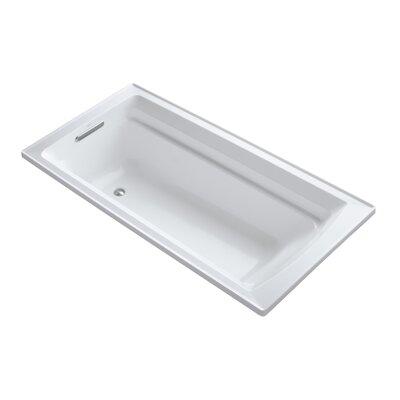 Archer 72 x 36 Soaking Bathtub Finish: White
