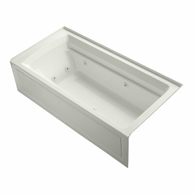 Archer 72 x 36 Whirlpool Bathtub Finish: Dune