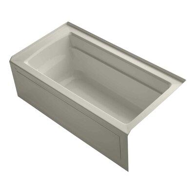 Archer 60 x 32 Alcove Soaking Bathtub Finish: Sandbar