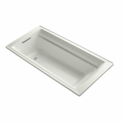 Archer 72 x 36 Soaking Bathtub Finish: Dune