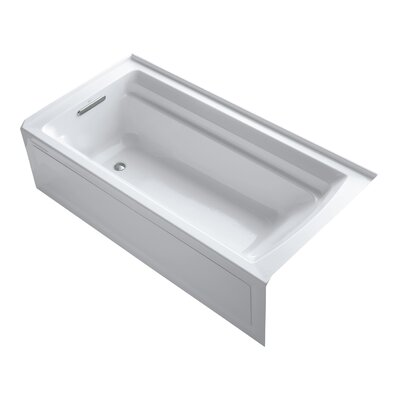 Archer Alcove 72 x 36 Soaking Bathtub Finish: White