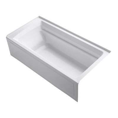 Archer 36 x 19 Bathtub Finish: White
