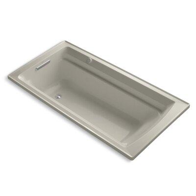 Archer Bubblemassage 72 x 36 Soaking Bathtub Sink Finish: Sandbar