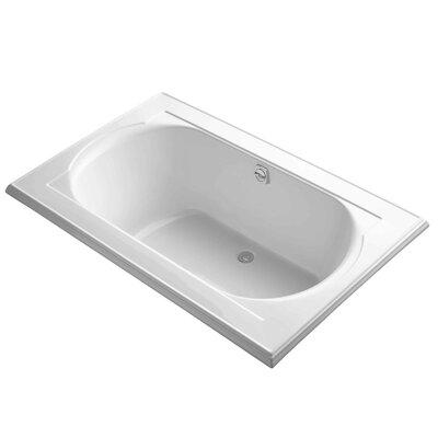 Memoirs 66 x 42 Soaking Bathtub Finish: White