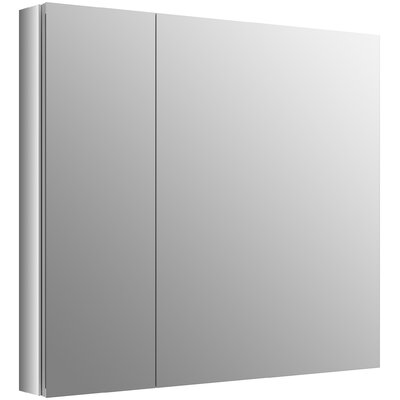 Verdera 34 x 30 Aluminum Medicine Cabinet with Adjustable Magnifying Mirror and Slow-Close Door