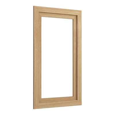 Poplin�/Marabou� Medicine Cabinet Surround, 15 Wide Finish: Khaki White Oak