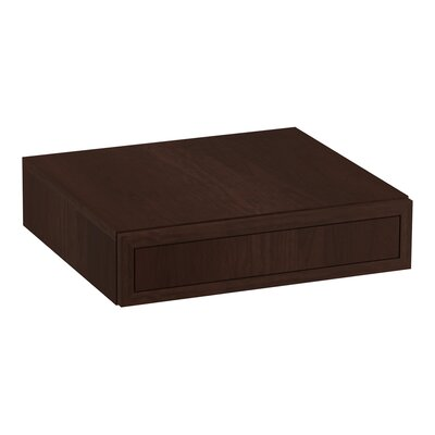 Jacquard� Lap Drawer Finish: Cherry Tweed