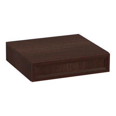 Damask� Lap Drawer Finish: Cherry Tweed
