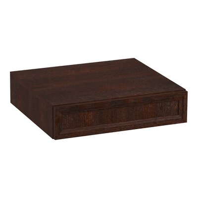 Damask� Lap Drawer Finish: Woolen Oak