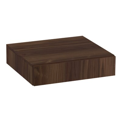 Poplin�/Marabou� Lap Drawer Finish: Terry Walnut