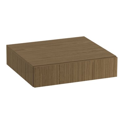 Jute� Lap Drawer Finish: Walnut Flax