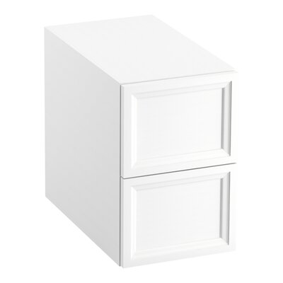 Damask 12.38 W x 19.06 H Cabinet Finish: Linen White