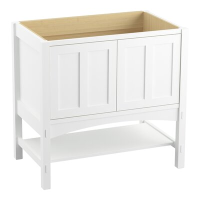 Marabou� 36 Vanity with 2 Doors Finish: Linen White