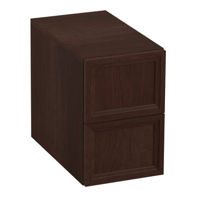 Damask 12.38 W x 19.06 H Cabinet Finish: Cherry Tweed