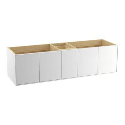 Jute� 72 Vanity with 4 Doors and 1 Drawer Finish: Linen White